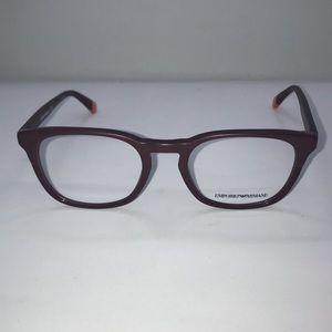 Emporio Armani 3118 Matte Bordeaux Eyeglasses